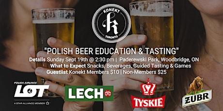 Polish Beer Education & Tasting tickets