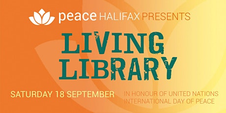 Peace Halifax: Living Library tickets