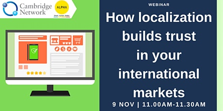 How localization builds trust in your international markets tickets