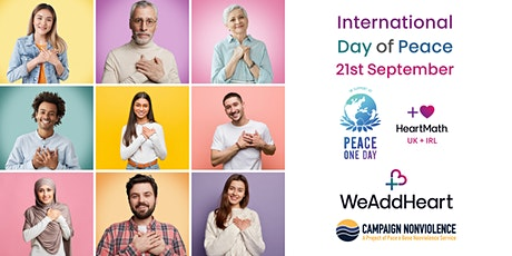 WeAddHeart Special Event for  International Peace Day Tickets