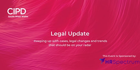 Legal Update  (This event is sponsored by HR Spectrum) tickets