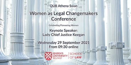 Women as Legal Changemakers tickets