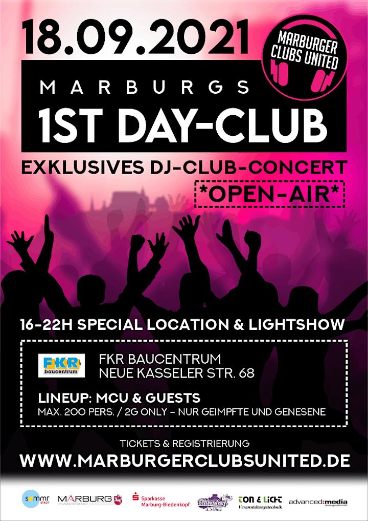 Marburgs 1ST DAY-CLUB - Exklusives DJ-Club-Concert *OPEN AIR*: Bild
