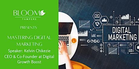 Mastering Digital Marketing tickets