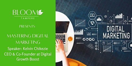 Mastering Digital Marketing at Bloom tickets