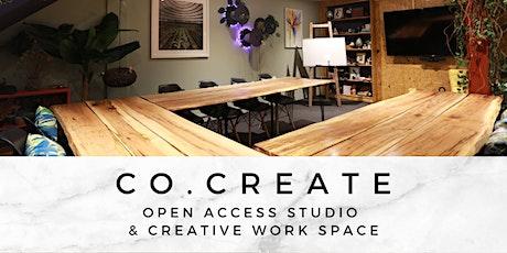 co.create - Open access studio & creative work space tickets