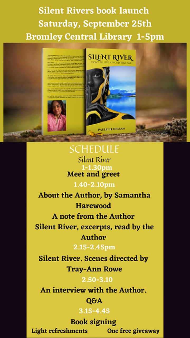 Silent River, Book Launch image