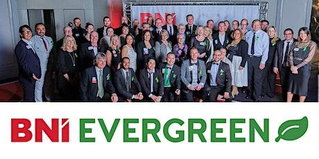 BNI Evergreen Visitor tickets 19th October 2021 tickets