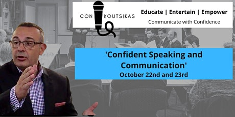Confident Speaking and Communication - 2 Day Program tickets