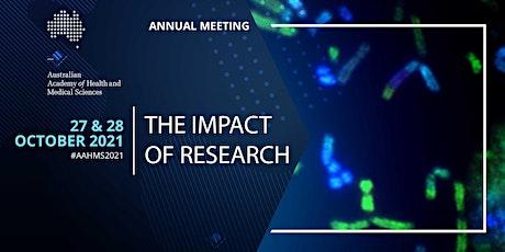 AAHMS Annual Meeting 2021 entradas
