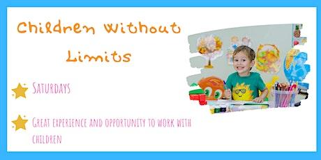 Children Without Limits  -Help to teach primary school children on campus-1 tickets