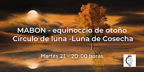 Celebración combinada: Luna de Cosecha + Mabon - equinoccio de otoño boletos