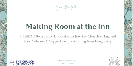 Making Room at the Inn; A CMEAC Roundtable Discussion on how the Church of tickets