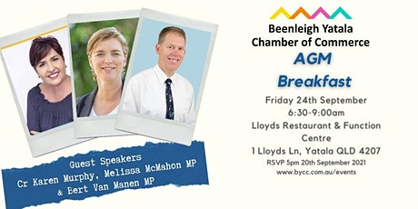BYCC Annual General Meeting Breakfast tickets