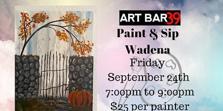 Fall Garden | ART BAR 39 | Public Event|Wadena tickets