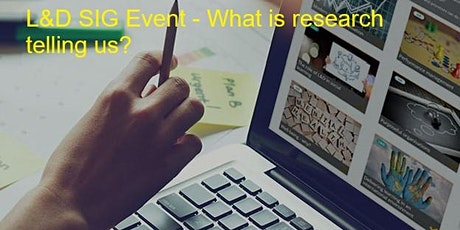 CIPD SE Scotland Branch  L&D SIG Event tickets