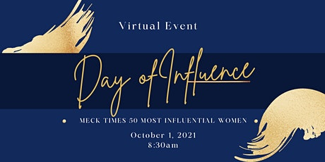 Meck Times 50 Most Influential Women: Day of Influence tickets