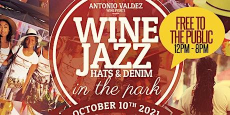 WINE JAZZ HAT & DENIM IN THE PARK tickets