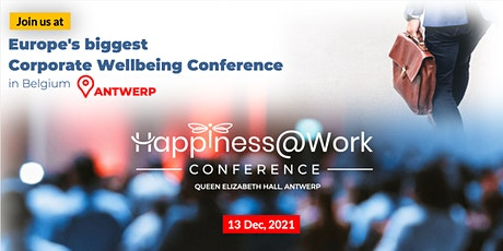 Happiness@work Conference tickets