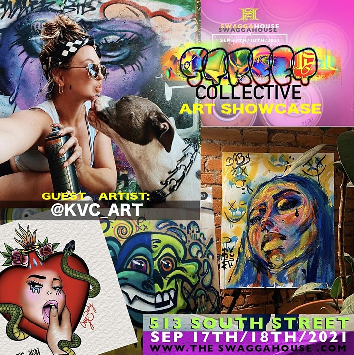 """Swagga House presents """"A Street Collective"""" Art Showcase image"""
