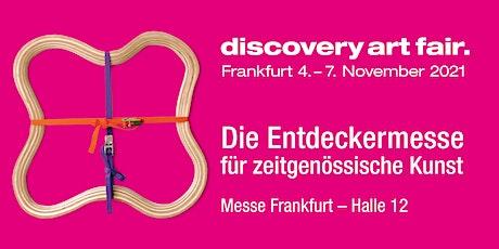 DISCOVERY ART FAIR Frankfurt 2021 Tickets