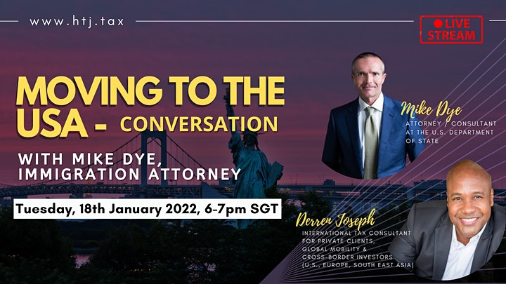 Moving to the USA - Conversation with Mike Dye, Immigration Attorney image