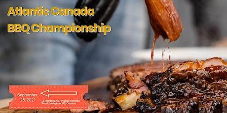 The Atlantic Canada Backyard BBQ Championship tickets