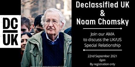 Declassified UK & Noam Chomsky tickets