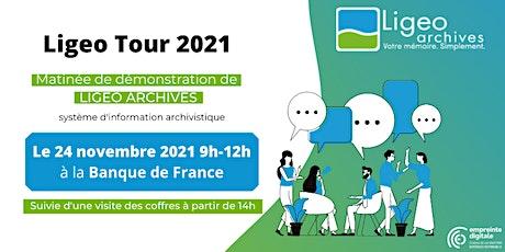 Ligeo Tour Paris 2021 billets