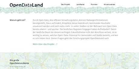 Into the wild: Explorations-Workshop zur Zukunft von Open Data auf dem Land tickets
