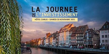 Journée de l'Investissement - 20 novembre 2021- Hôtel Ciarus billets