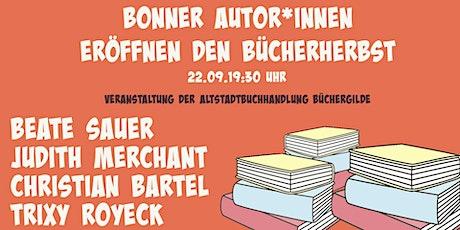 Bonner AutorInnen eröffnen den Bücherherbst Tickets