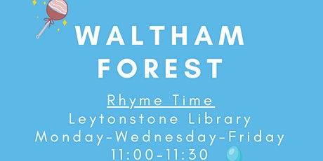 Rhyme Time @ Leytonstone Library tickets
