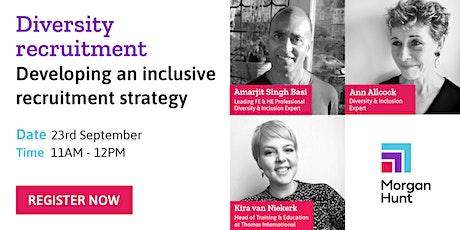 Diversity recruitment: Developing an inclusive hiring strategy tickets