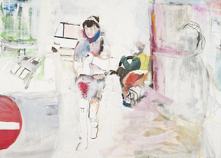 """Ausstellungseröffnung """"Menschen und Städte"""" der Künstlerin Kim Corbisier: Bild"""