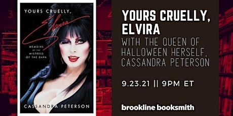 YOURS CRUELLY, ELVIRA with Cassandra Peterson tickets