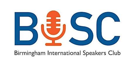 Birmingham International Speakers Club Moseley, Birmingham tickets