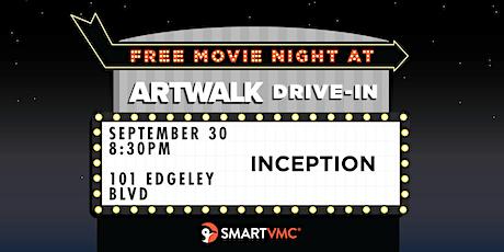 ArtWalk Drive-In : Inception tickets