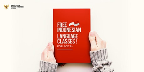 Free Indonesian Language Class (For Children) tickets