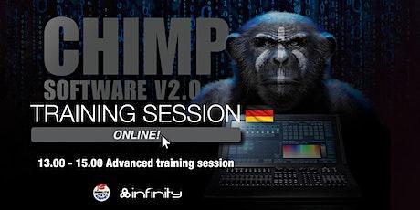 Chimp  Online Schulung Deutsch – Fortgeschrittene Tickets