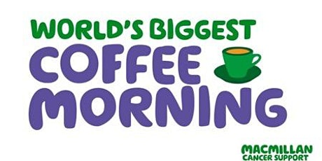 Macmillan Cancer Support - Worlds Biggest Coffee Morning tickets