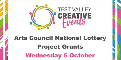 An introduction to Arts Council National Lottery Project Grants tickets