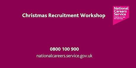 Christmas Recruitment Workshop tickets