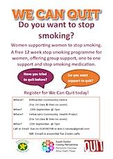 Smoking Cessation program for women online tickets