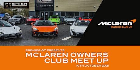 Mclaren Owners Club Meet Up @ Premier GT tickets