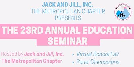Jack and Jill Education Seminar 2021 tickets