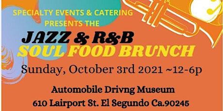 Vendors   ONLY registration for Sunday Jazz & R & B  Brunch tickets