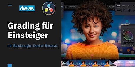 Blackmagic Davinci Resolve - Grading für Einsteiger Tickets