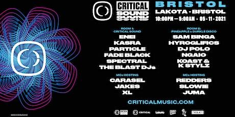 Critical Sound // Bristol 2021 tickets