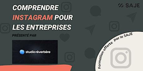 Comprendre Instagram pour les entreprises billets